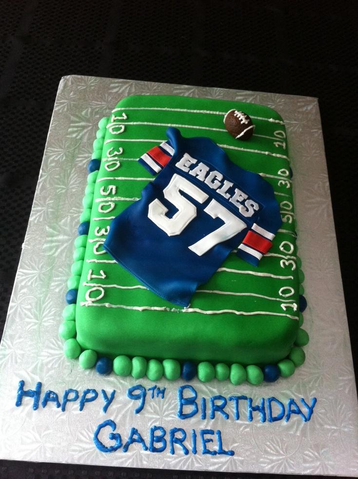 Edible Cake Images Nj : Football jersey cake Birthday Party Ideas Pinterest