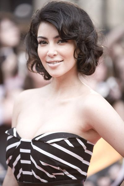 Everyday Hairstyles For Very Curly Hair : If i can wear my hair short but love the front of her maybe