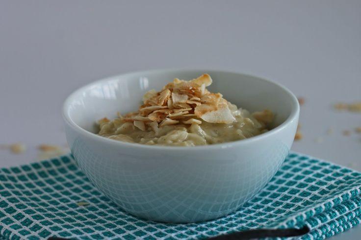 Coconut Vanilla Bean Rice Pudding