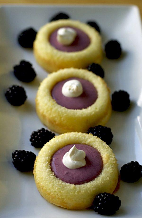Berry Dessert Cups | Desserts- mini | Pinterest