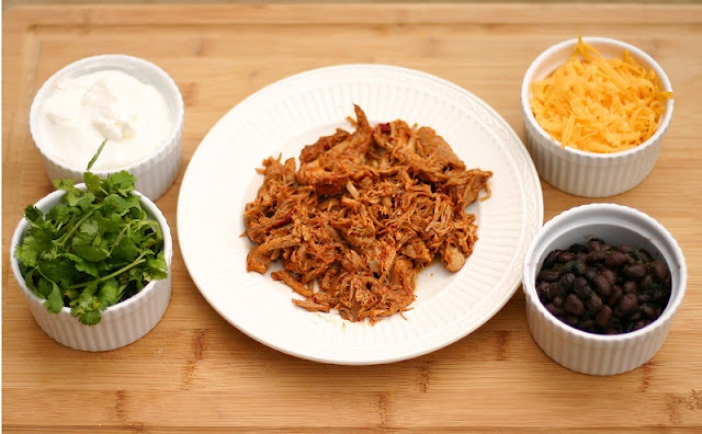 Spicy Shredded Slow Cooker Pork | Slow Cooker Meals | Pinterest