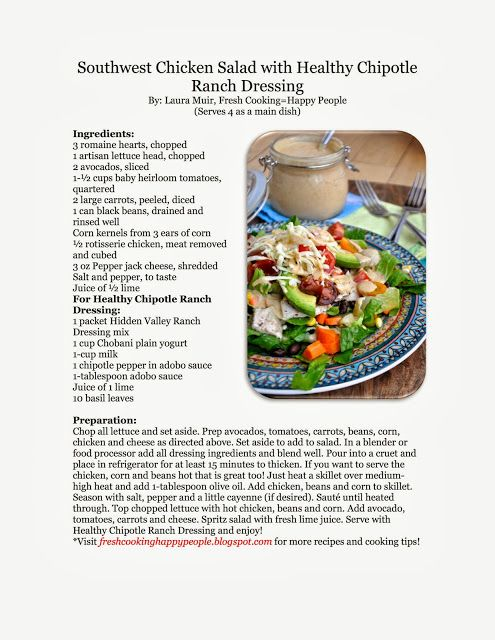 Chipotle Ranch Dressing | Recipes , old fashion baking and cooking ...