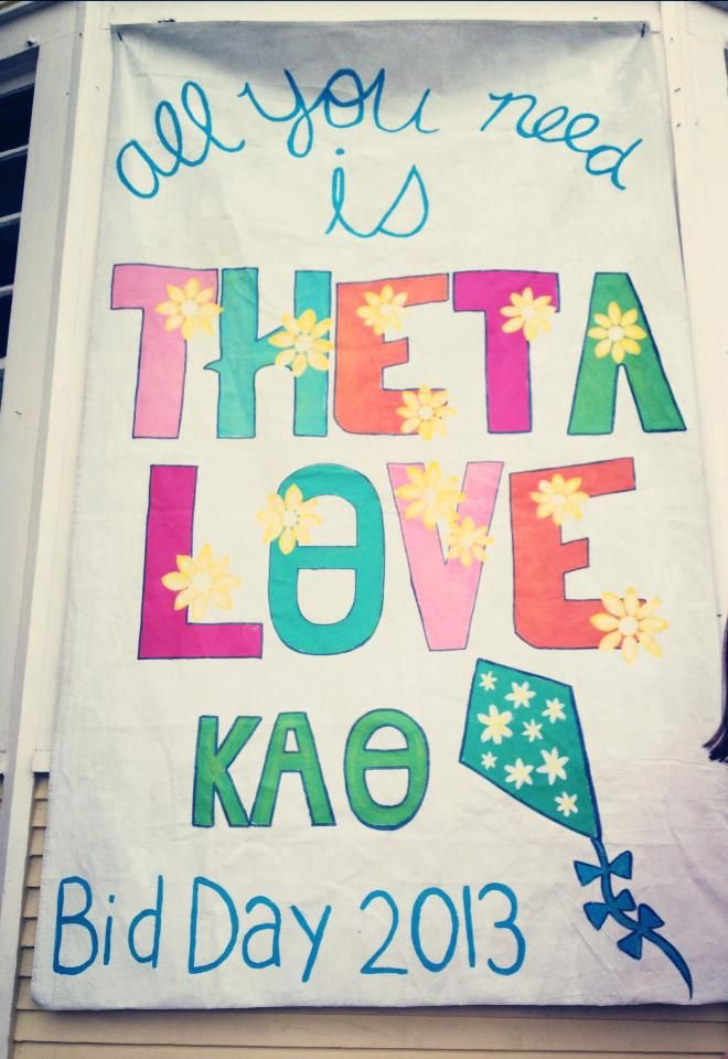 ❤ theta LOVE ❤ bid day inspirations