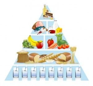 food guide pyramid for older adults