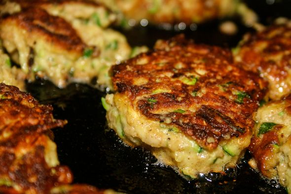 Zucchini Cakes with Parmesan Cheese | HEALTHY FOOD!!! :) | Pinterest