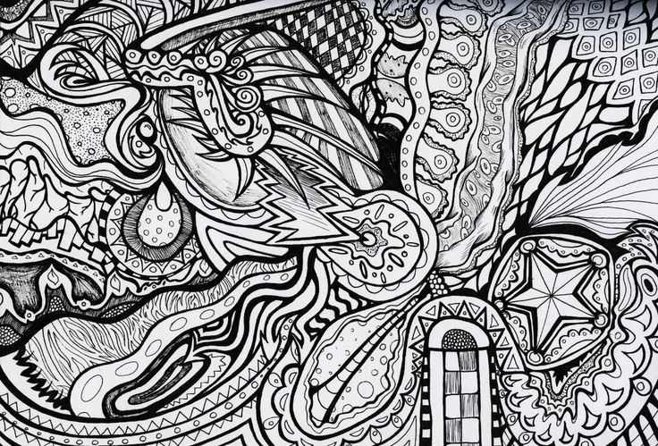 Trippy Mushroom Coloring Pages Trippy coloring pages