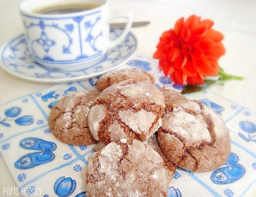 Dark Chocolate - Almond Crackles | Oh Suga Suga! | Pinterest