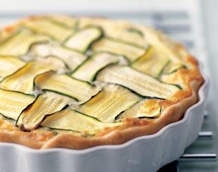 Zucchini & Raclette cheese tart :) | feed me. | Pinterest