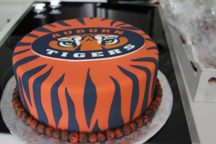 Cake Decorations Montgomery Al : Pin Auburn Football Birthday Cake Ideas Party Cake on ...