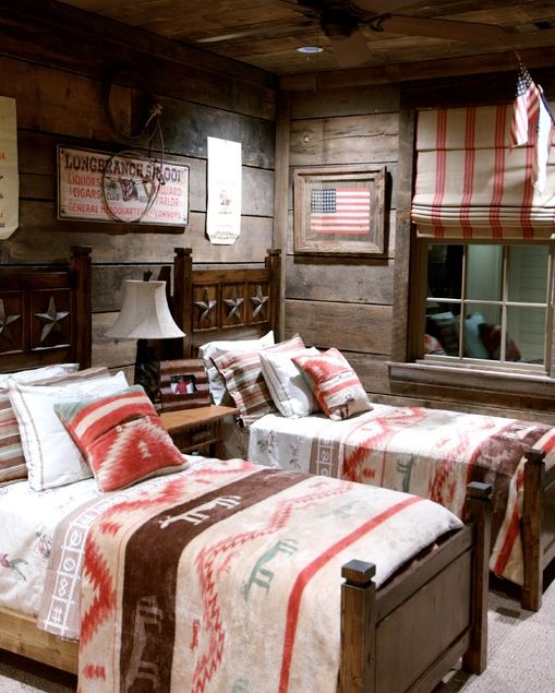 This Cowboy Bedroom Houzz Was Designed By Jean Macrea Interiors The