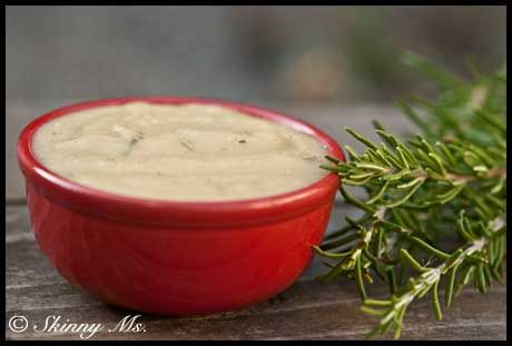 Slow Cooker Rosemary Potato Soup | Recipe
