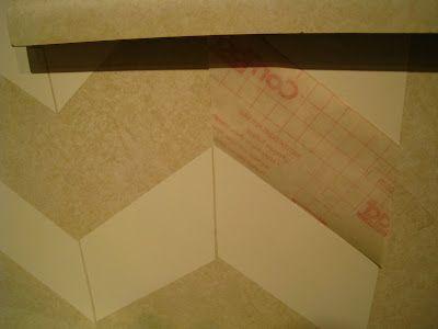 contact paper backsplash crafty pinterest