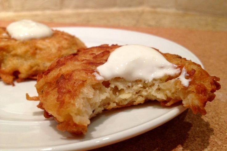 Parsnip Latkes With Horseradish And Dill Recipe — Dishmaps