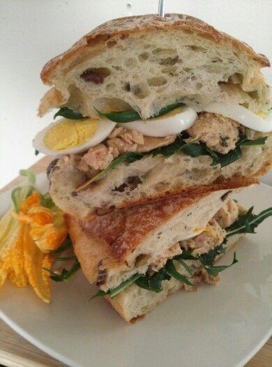 Nicoise Sandwich | Sandwiches | Pinterest