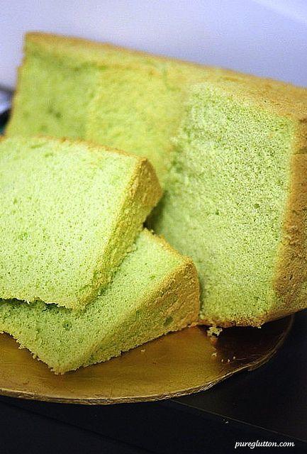Easy Bake Pandan Chiffon Cake | Cakes & Cupcakes | Pinterest