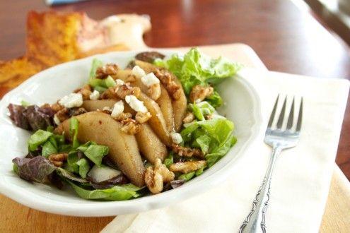 Pear, Walnut, and Gorgonzola Salad | Recipe