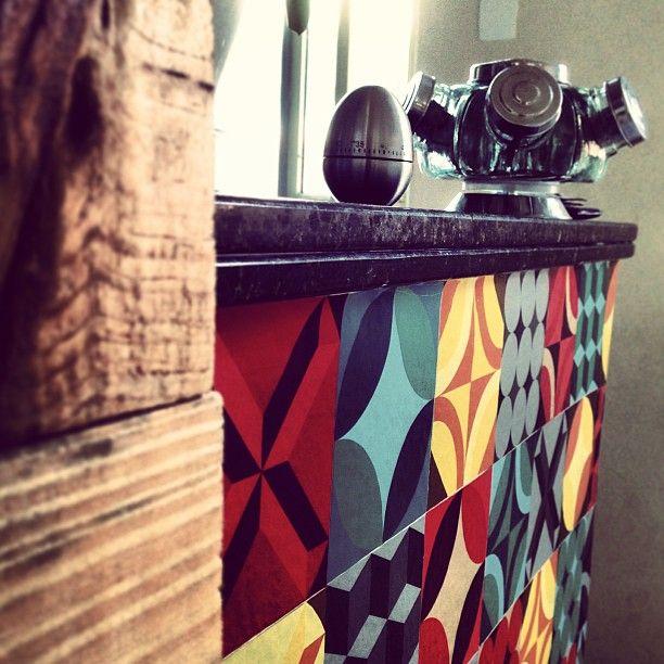 Homens da Casa: Adesivos para Azulejo