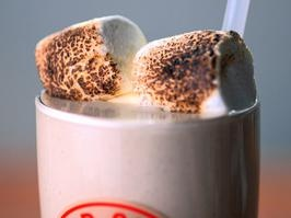 Toasted Marshmallow Shake...I don't need to say anymore...and it was ...