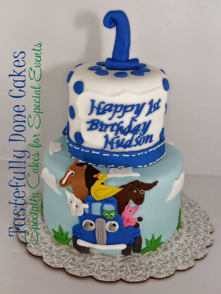 Little Blue Truck Cake  Weddings & Event Cakes That I Made  Pintere ...