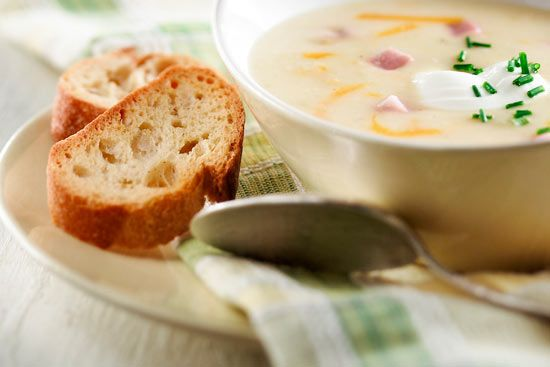 Potato, Cheddar and Chive Soup | Soups and Chowders | Pinterest