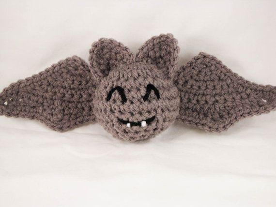 Amigurumi Bat Halloween Ready to ship crochet spooky cute ...