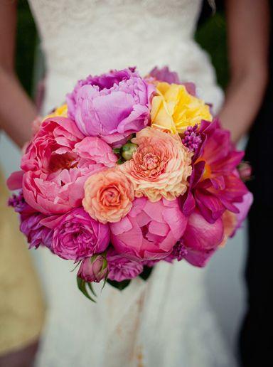 Brautstrauß Pink  Hochzeitsideen  Pinterest