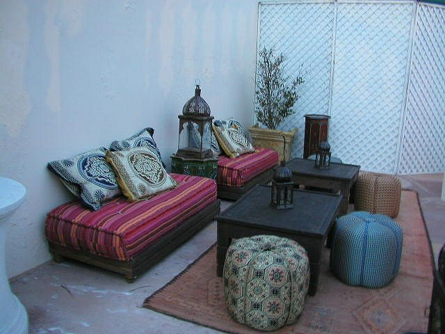 Moroccan Patio Arabian Decor Pinterest