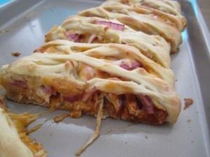 BBQ Chicken Braid. Oh so good! | Dinner - Chicken | Pinterest