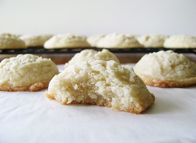 Vanilla Shortbread Cookies! | Just Dessert | Pinterest
