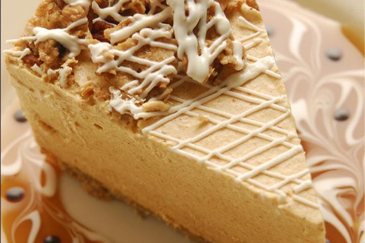 Pumpkin White Chocolate Cheesecake | Cheesecake Yummies for Our Tummi ...