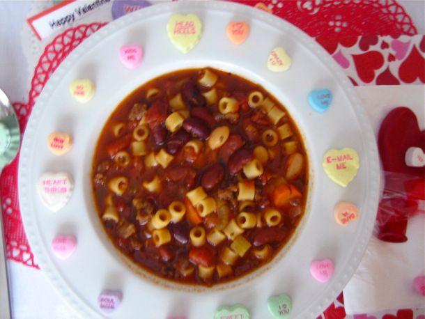 Hearty Pasta Fagioli | Foods | Pinterest