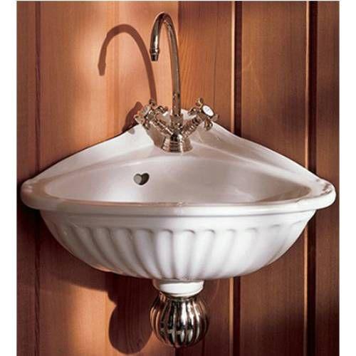 Victorian Corner Sink : Cute Victorian corner sink Caravan in rose Pinterest
