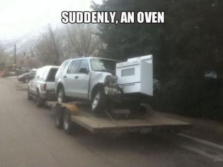 that darn oven