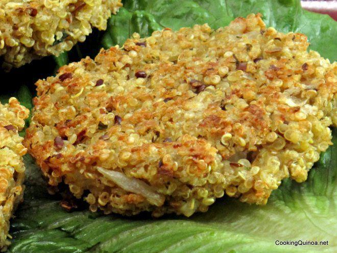 Baked Quinoa Patties | Recipe