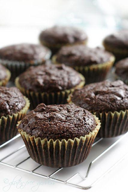 Gluten free brownie cupcakes-namaste mix | Yummers | Pinterest