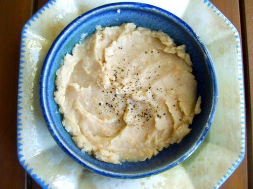 Recipes Under 400 • Creamy Cannellini Bean & Garlic Dip