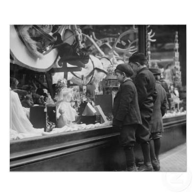 Christmas wish list 1920s posters for 1920s window