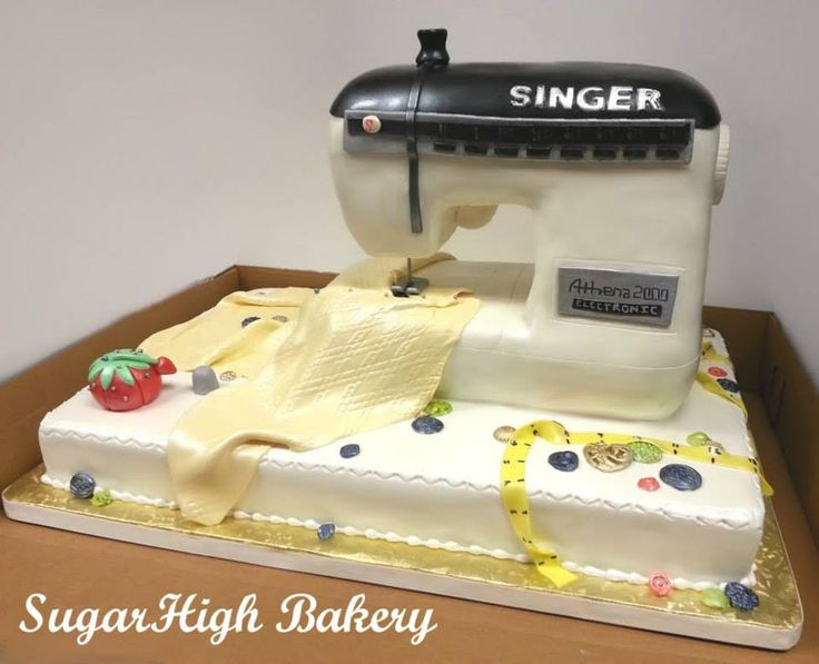 Cake Design For Singer : Singer cake Singer Pinterest