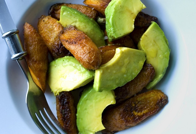 roasted carrot and avocado salad | Food | Pinterest