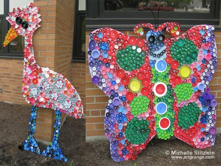 bottle top art art ideas pinterest