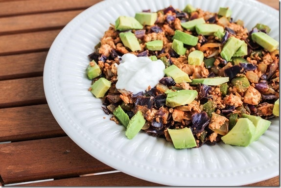 mexican tofu scramble #fitfluential | Recipes I NEED to make! | Pinte ...