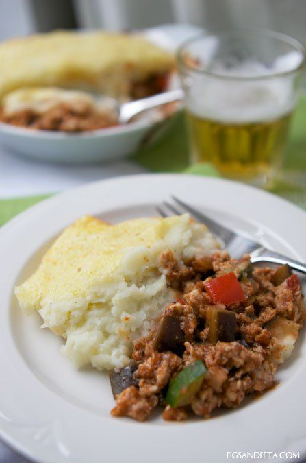 Greek Shepherd's Pie- a Greek twist on an Irish classic!
