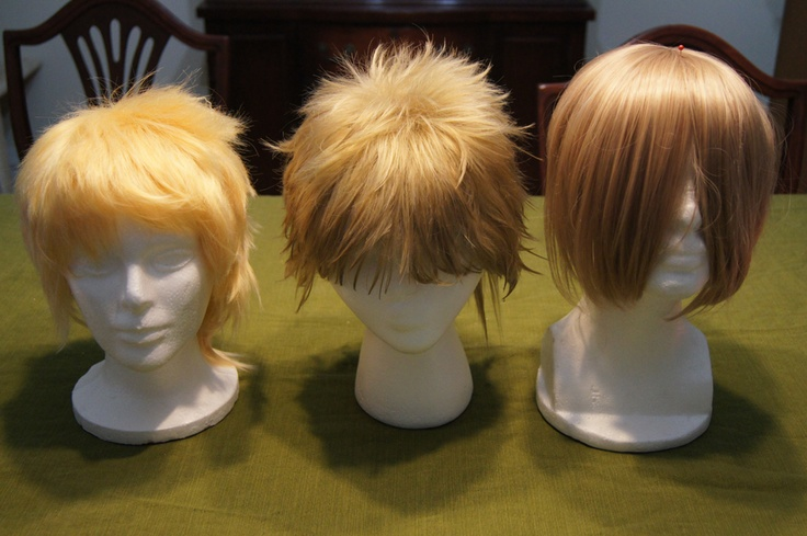 Dying Halloween Wigs 8
