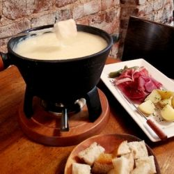 Authentic Swiss Cheese fondue needs no special occasion — dip right ...