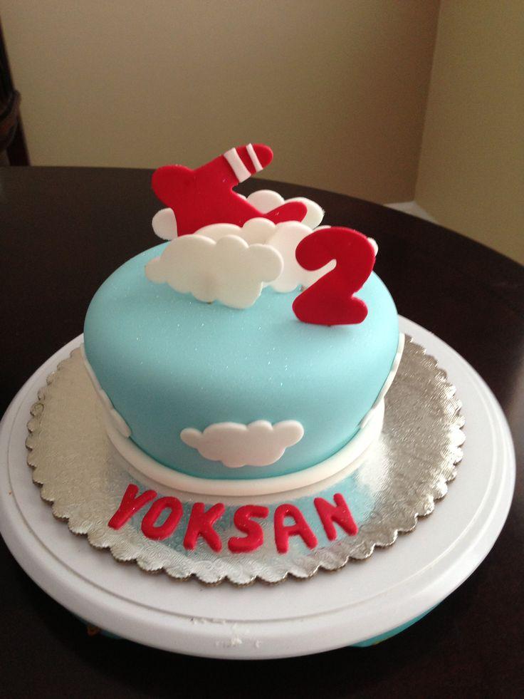 Airplane cake cake decorating ideas pinterest for Airplane cake decoration