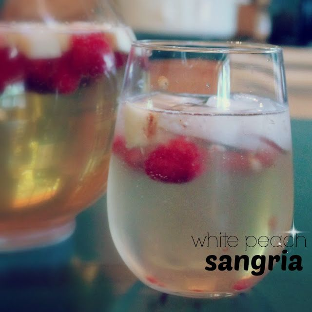 White Peach Sangria | Recipes And Food Gift Collection | Pinterest