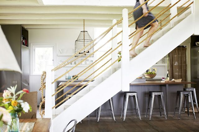 Best Nautical Rope Railings House Ideas Pinterest 400 x 300