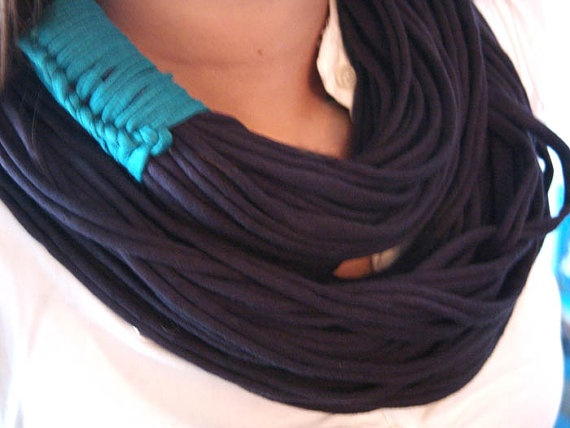 Chunky Scarf / Necklace Cool Winter Fashion by AllFullOfLove, $29.90