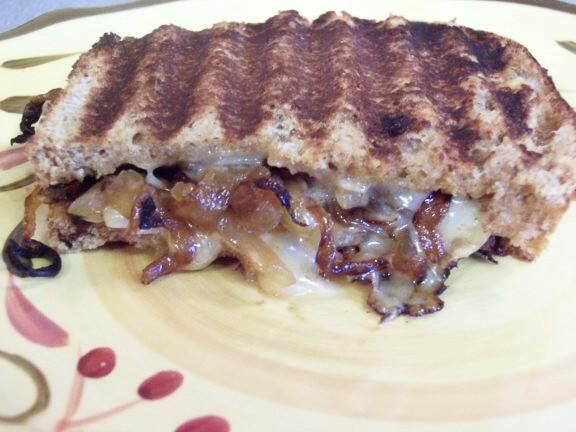 Grilled Gruyere and Sweet Onion Sandwiches | Recipe