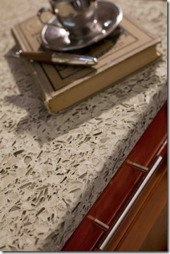 Crushed glass countertop for the home pinterest for Crushed glass countertops